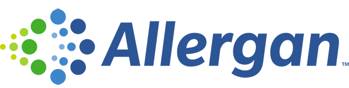 logotipo de allergan